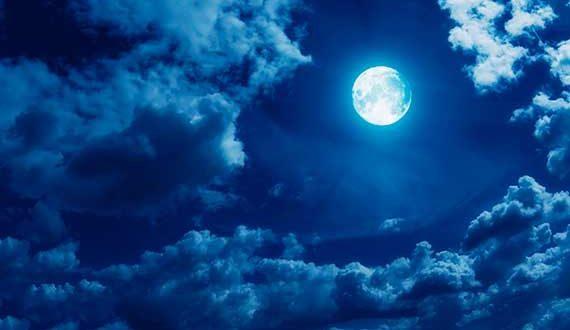 صور تفسير رؤيا القمر , ما يوحي اليه رؤيه القمر ف الحلم