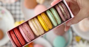 طبق حلوى فرنسي , ماكرون الشيكولاتة الفرنسي