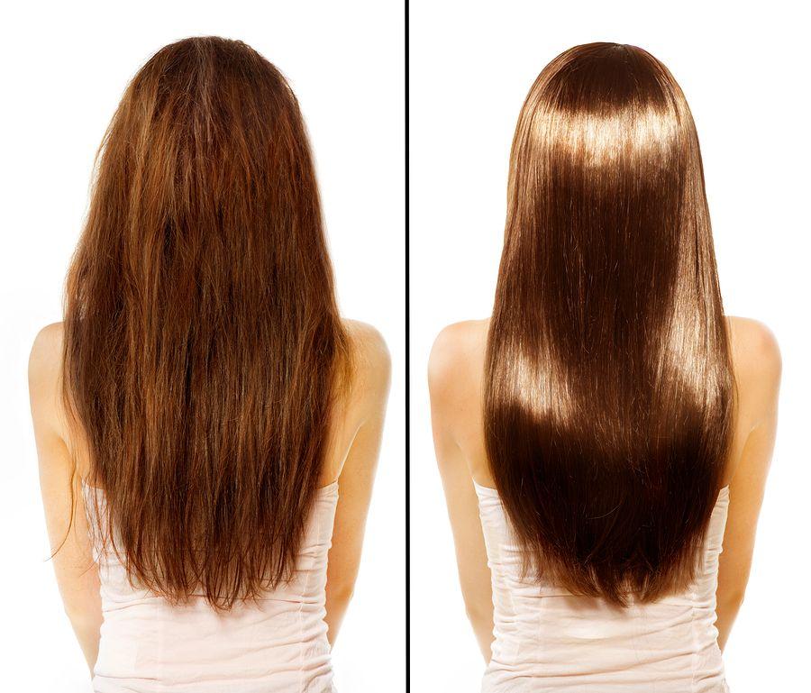 صورة وصفات ترطيب شعر , خلطات طبيعيه لعلاج الشعر الجاف