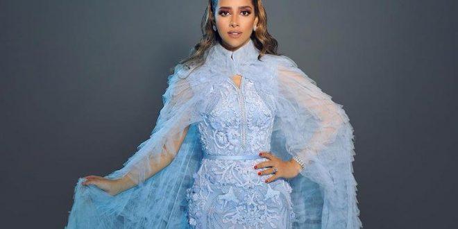 صورة فستان ازرق سماوي , موديلات متنوعه للفساتين الزرقاء