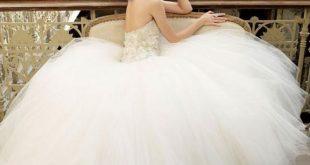 صور فساتين زفاف جديدة , ازاي تختاري فستان فرحك