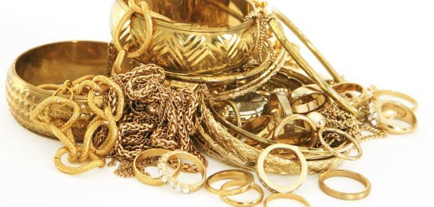 صورة تفسير حلم الذهب في المنام , الدهب خير ولا شر 2427 2