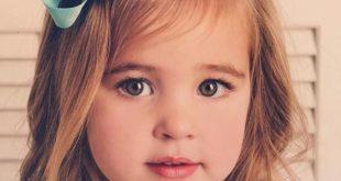صور طريقة قص الغره للاطفال , دلعي طفلتك بلوك شعر جديد