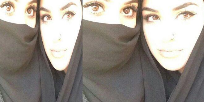 صورة صور عيون بالنقاب , جمال عيون المنتقبة