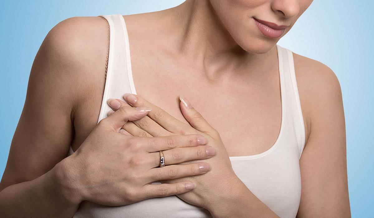 صورة حبة في الثدي , اسباب ظهور حبيبات الثدي
