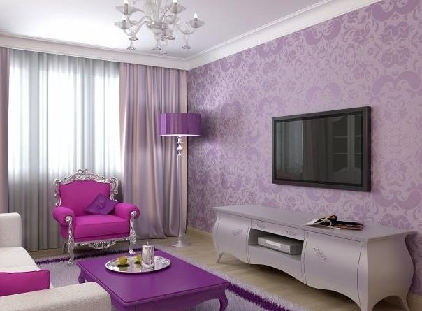 Pink And Purple Girls Room Ideas