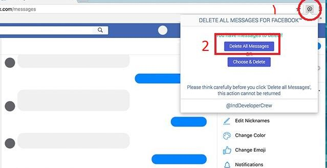 صورة حذف جميع رسائل الفيس بوك , اخلي سبيلك من القيود