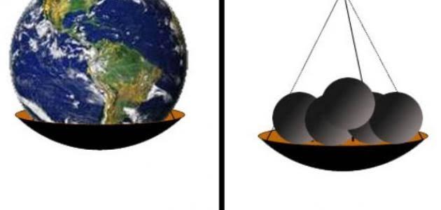 صورة الفرق بين الوزن والكتلة , و هل يوجد علاقة بينهما 2002 1