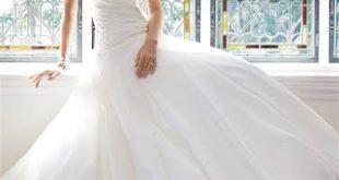 اخر موديلات فساتين الزفاف , فستانك الابيض ولا اروع