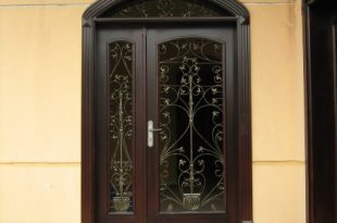 صورة ابواب حديد مدخل رئيسي , امن نفسك واسرتك بابواب حديد