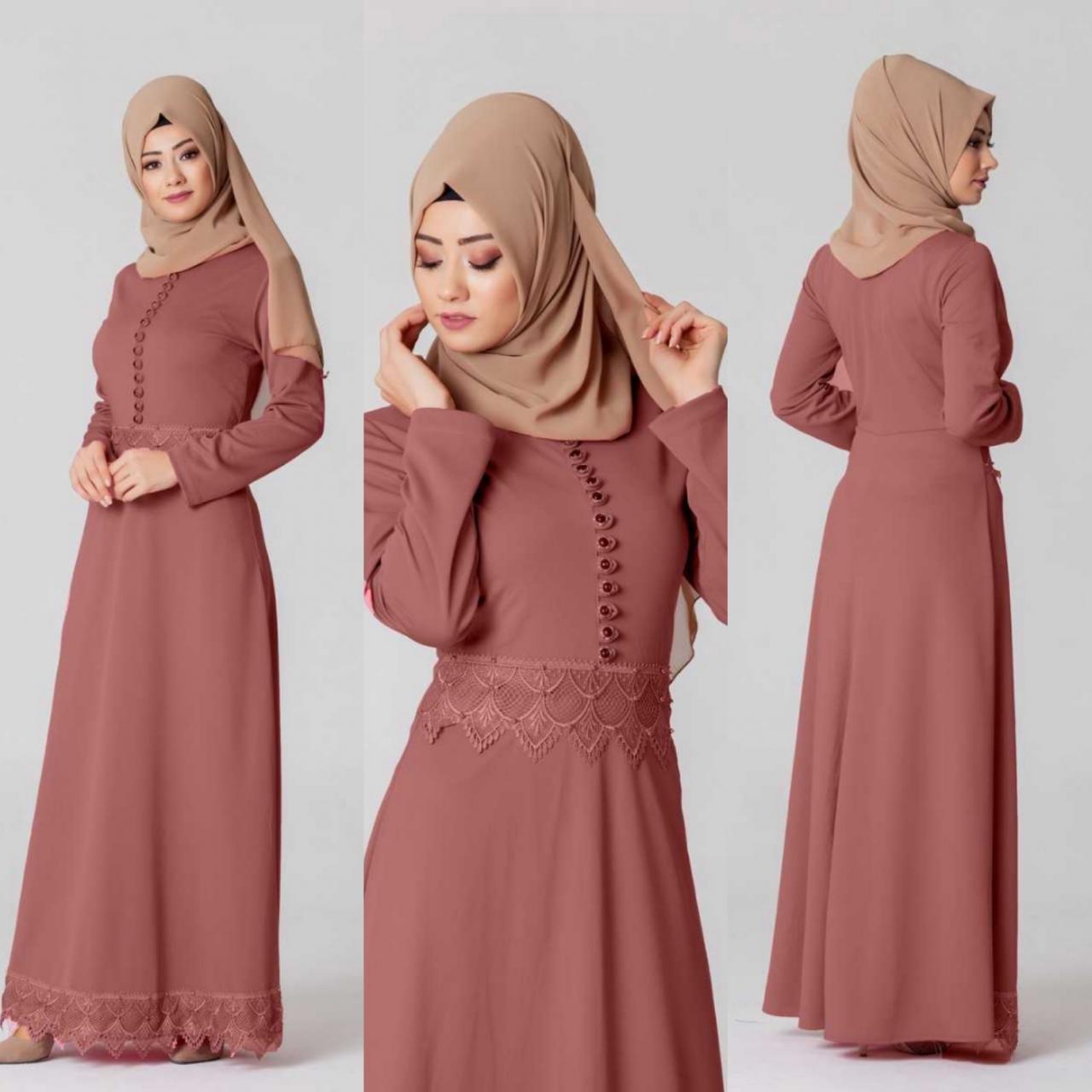 صورة كيف تصنعين فستان طويل بسيط بخطوات بسيطة , طريقة خياطة فستان بنفسك