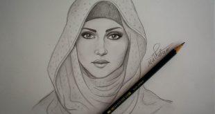 صورة رسومات وجوه بنات , تعرف على انواع فن الرسم