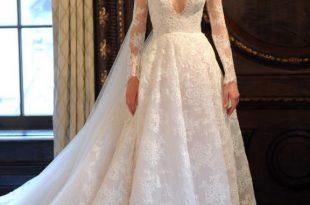 صورة احدث موديلات فساتين الزفاف , تالقي يوم فرحك بفستان مميز