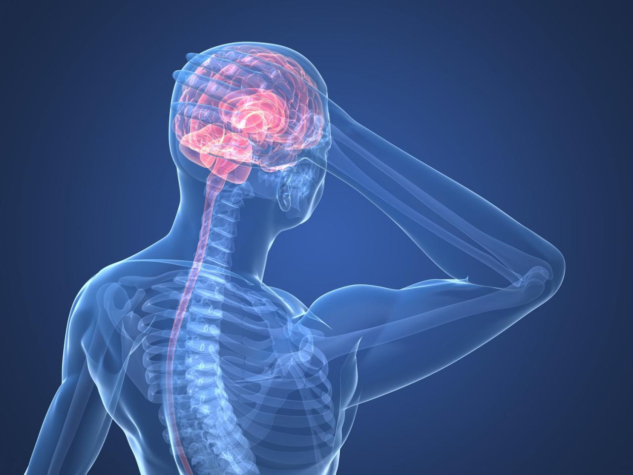 صورة صداع خلف الراس , الم بالراس من الخلف كيفية علاجه