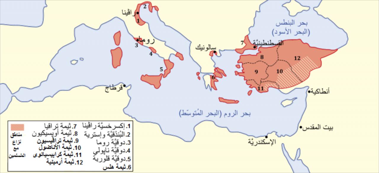 اين تقع القسطنطينية حاليا , موقع القسطنطينية علي الخريطة ...
