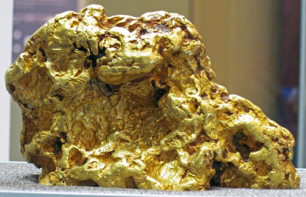 صورة التنقيب عن الذهب , كيفية البحث عن الذهب