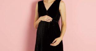 ازياء حوامل انستقرام , صور جميلة لفساتين المراة الحامل