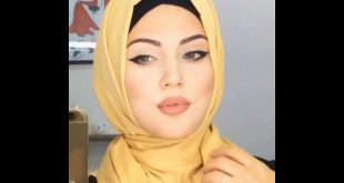 صورة احلى لفات حجاب , طرق عمل الطرحة