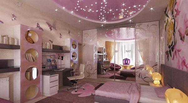 صورة ديكورات غرف نوم بنات كبار , ديكور اوضة بنتك