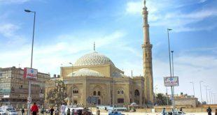 صورة خريطة 6 اكتوبر مصر , مدينة اكتوبر و مسجد الحصري