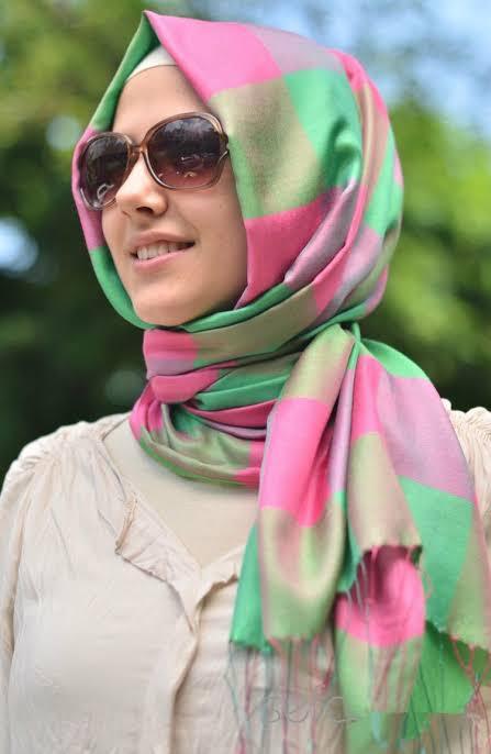 صورة صور بنات محجبات عرب , اناقة الحجاب فى الفتاة العربية