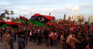صورة تعبير عن ثورة 17 فبراير , ثوره تتحول الي حرب مسلحه