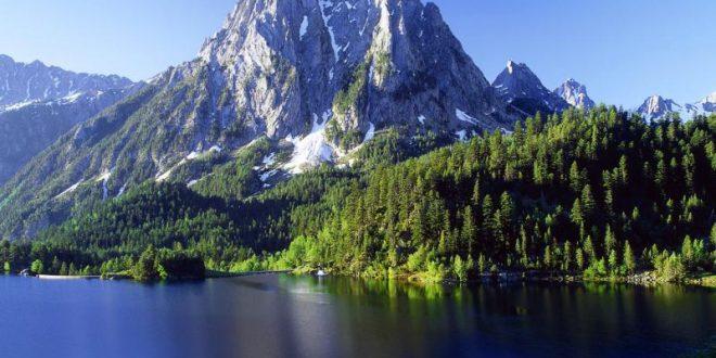 صورة خلفيات جبال وشلالات , البوم صور طبيعية جبل وشلال