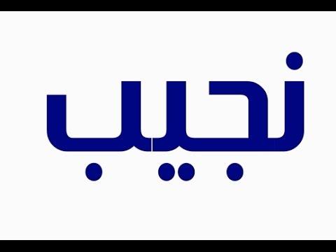 صورة معنى اسم نجيب , معني نجيب في معجم المعاني