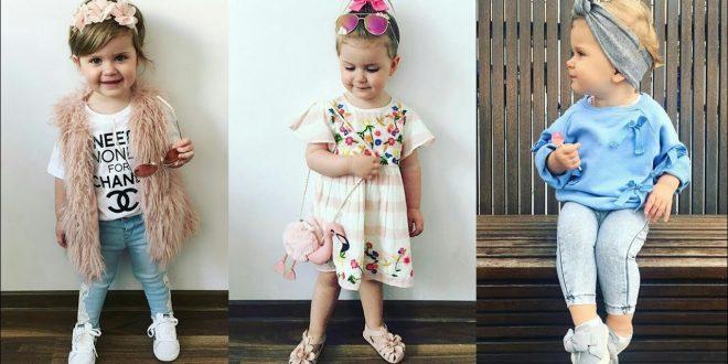 صورة ملابس بنات اطفال , اقتني لطفلتك ملابس رائعة