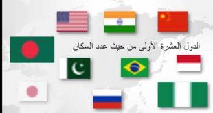 صورة ترتيب الدول من حيث عدد السكان , اخر الاحصائيات عدد السكان في العالم