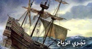 صورة قصيدة تجري الرياح بما لا تشتهي السفن , شعر لابو الطيب المتنبي