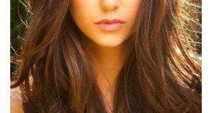 صورة لون شعر كستنائي , لاطلالة ساحرة مع شعر بني