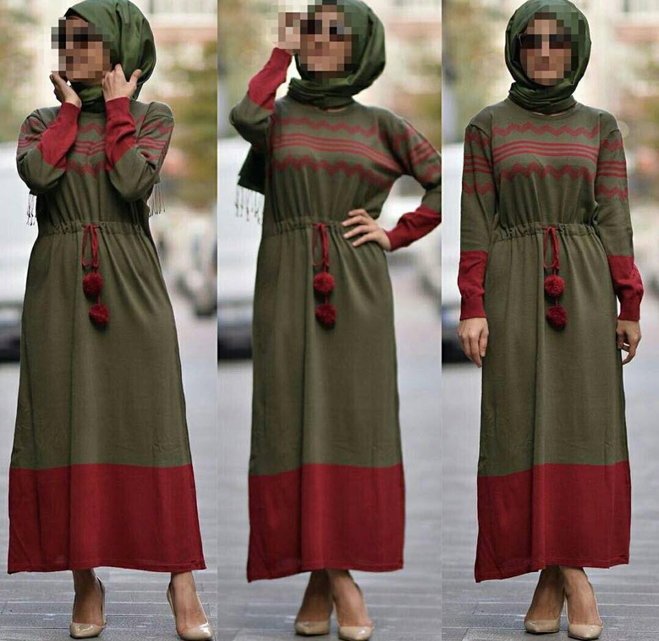 صورة موديلات حجابات جزائرية للبنات , تشيكلات عصرية للفتيات في الجزائر 599 4