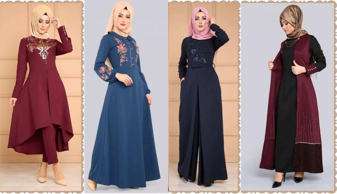 صورة موديلات حجابات جزائرية للبنات , تشيكلات عصرية للفتيات في الجزائر 599 9