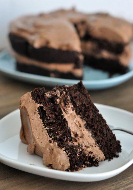 صورة وصفة كيك الشوكولاتة , طريقة سهلة و سريعة لعمل كيك بالشيكولاتة 6507 2