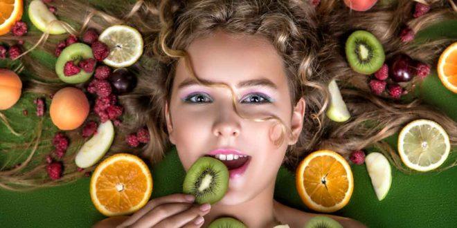 صورة اغذية لتطويل الشعر , اطالة الشعر بالغذاء الصحى المتوازن