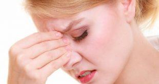 صورة اعراض حساسية الانف المزمنة , الالتهابات الحادة من المزمنة للجيوب الانفية