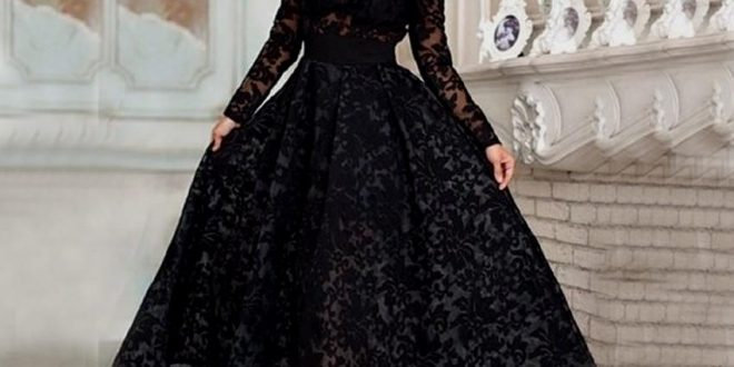 صورة فساتين منفوشه من تحت , اجمل موديلات المنفوش من الفساتين