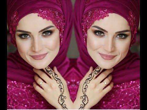 صورة لفات طرح سواريه بسيطة , تألقي بحجابك في مناسباتك المميزة 3314 17