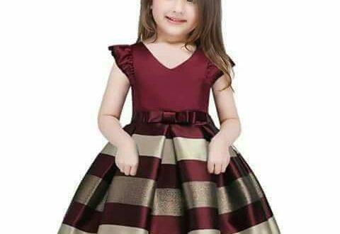 صورة احدث موديلات فساتين الاطفال , احلي فستان لاجمل بنوتة