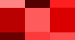 صورة كيف نحصل على اللون الاحمر , كيف نقوم بصنع لون احمر متميز