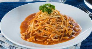 صورة طريقة تحضير السباغيتي, اطعم سباغيتي بالفراخ