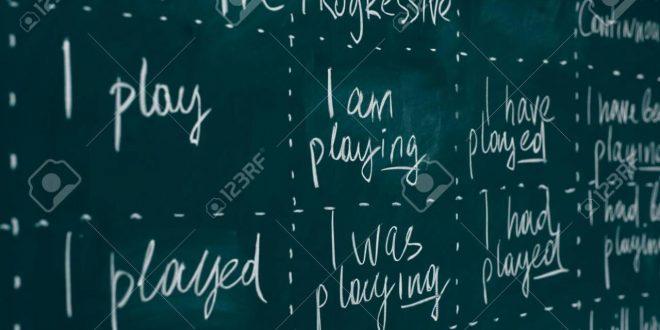 صورة تصريف الافعال الانجليزية في جميع الازمنة , الازمنة المختلفة للافعال بالانجليزية
