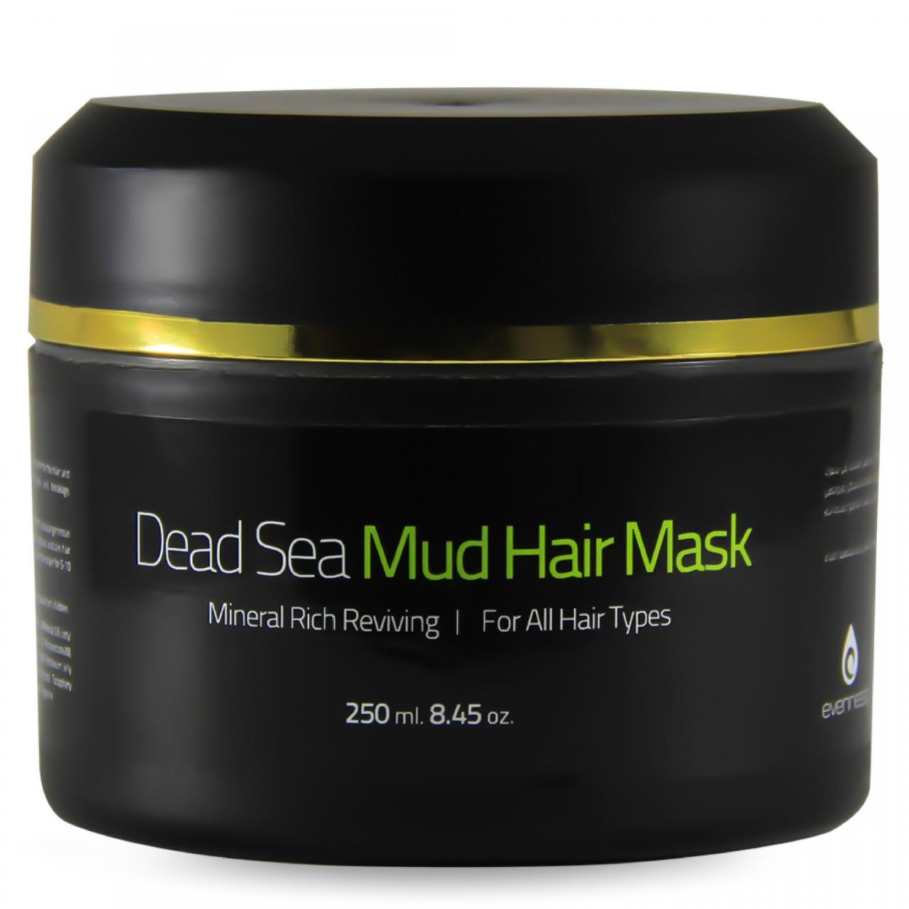 صورة طين البحر الميت للشعر , علاج الشعر بطين البحر الميت