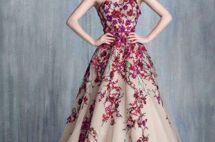 صورة صور فساتين فخمة, تألقي بأحدث موضة لفساتين السهرة 2020